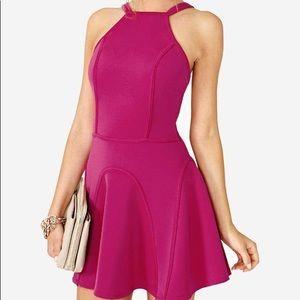 Nastygal Pink Scuba Dress